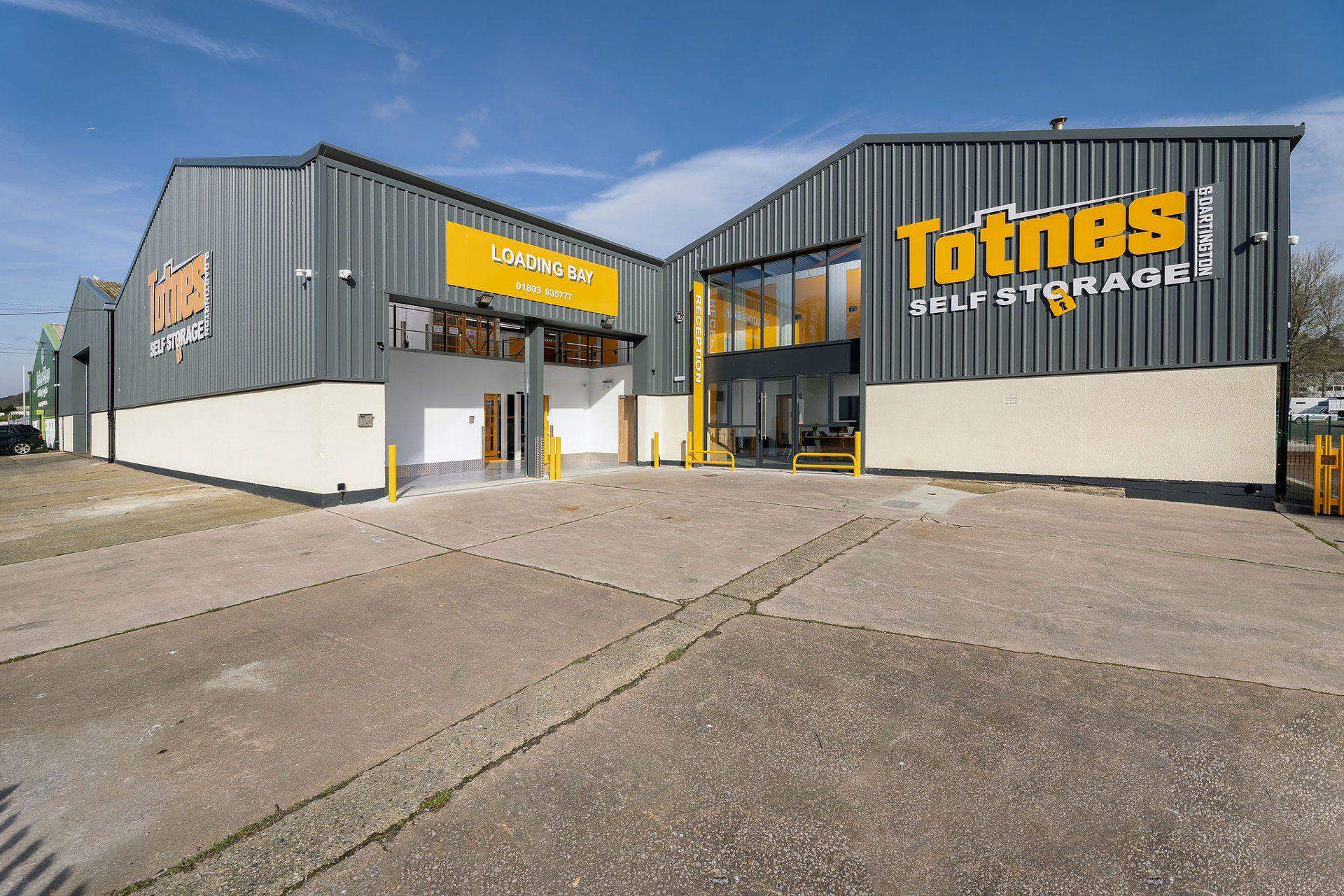 Totnes Self Storage Building